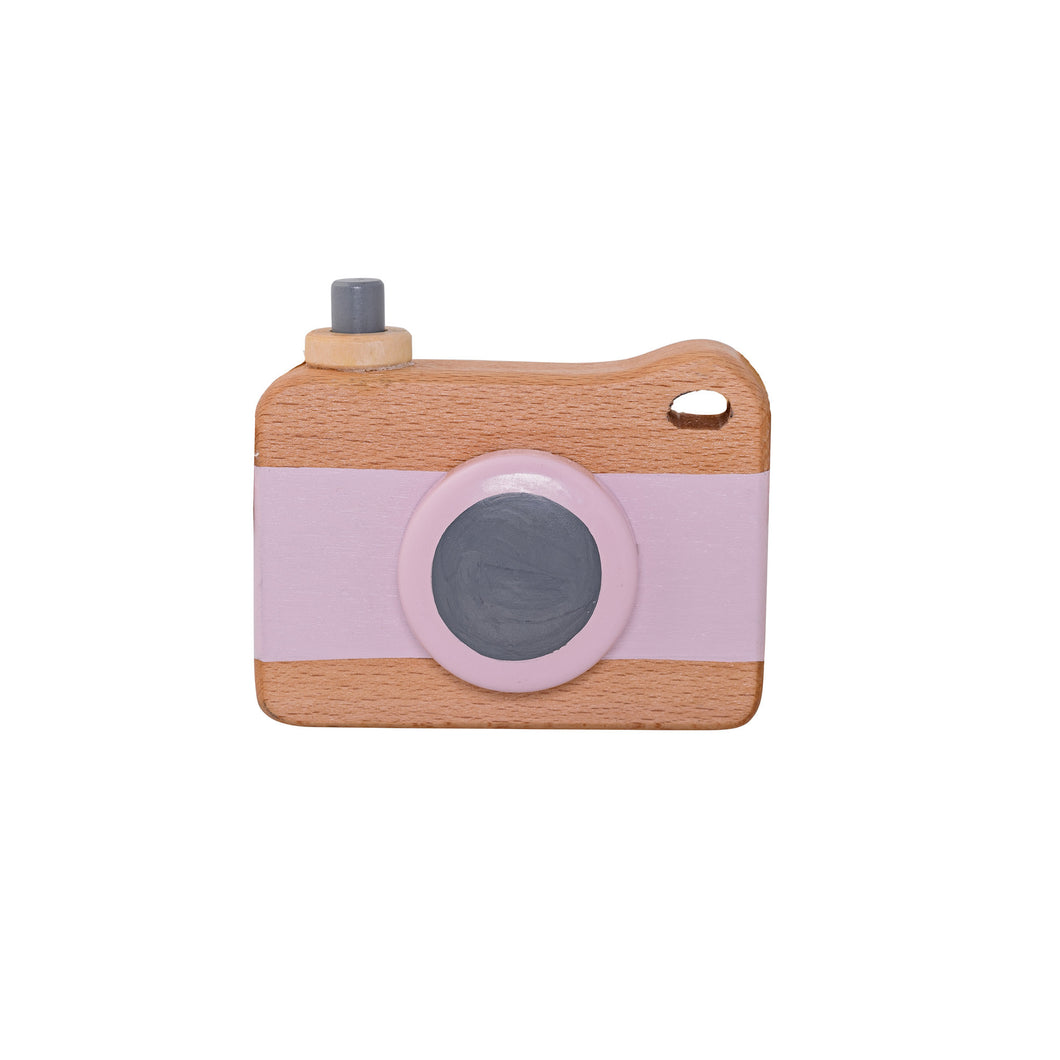 Bloomingville - Wooden Toy Camera - Pink