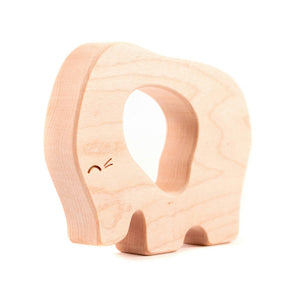 Wooden Teether - Elephant