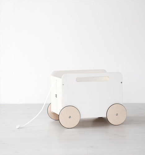 Wooden Cart On wheels