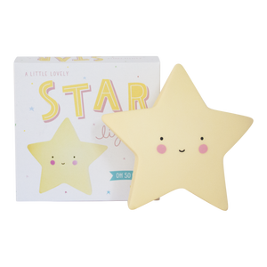 A Little Lovely Company - Night Light - Star