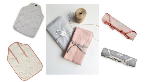 Bundle set #2: Signature Swaddle & Changing Mat