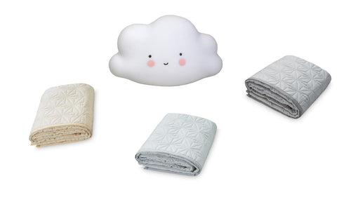 Bundle set #4: Signature Quilt & mini cloud light