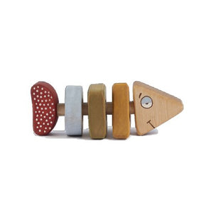 Wooden Toy - Fish Rattle