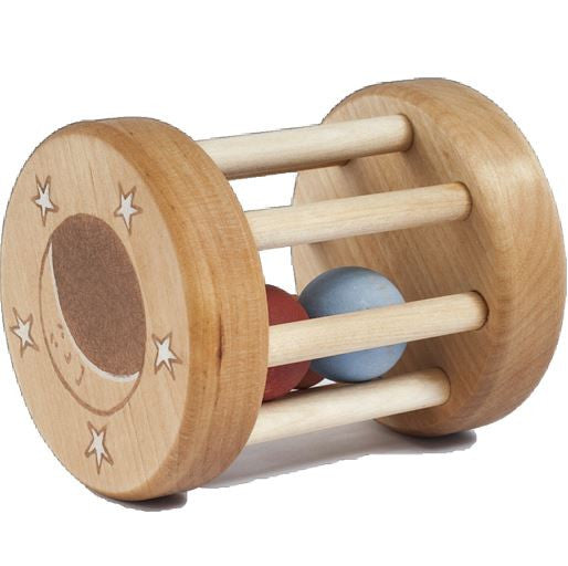 Wooden Rattle Box