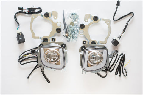 GL1800 2012+ LED Rectangular Driving/Fog Lamp Kit