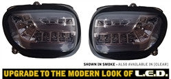 G18DTS-F - GL1800 '01-'05/All F6B Smoke Lens Sequential LED Front Turn Signal Kit