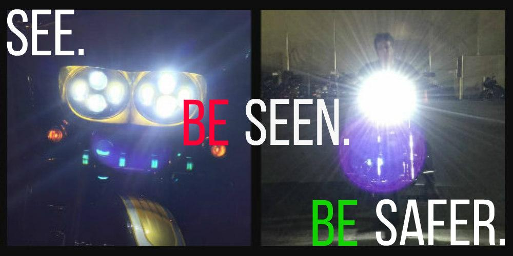 Be BRIGHT... Be SEEN!