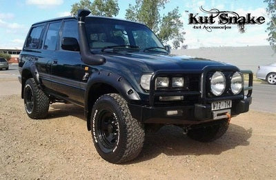 Kut Snake | Toyota Landcruiser 80 Series (1990 - 1997) | Fender Flares Front Set - Big Rig 4x4 Auto & Superstore, QLD, Queensland, Australia, Underwood, Brisbane Flare Kits - 4WD, 4x4, Accessories, Performance Upgrades, Suspension,  Exterior, Tyres, Lift Kits, Offroad, Kut Snake - Legendex, Ridepro