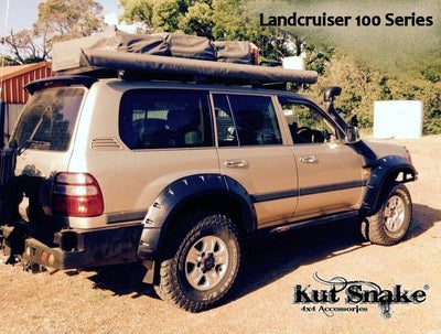 Kut Snake | Toyota Landcruiser 100 Series (1998-2005) | Fender Flares Complete Set - Big Rig 4x4 Auto & Superstore, QLD, Queensland, Australia, Underwood, Brisbane Flare Kits - 4WD, 4x4, Accessories, Performance Upgrades, Suspension,  Exterior, Tyres, Lift Kits, Offroad, Kut Snake - Legendex, Ridepro