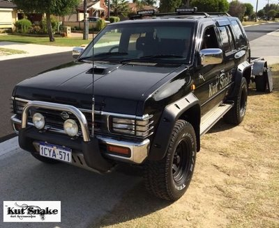 Kut Snake | Nissan Pathfinder (1985 - 1995) | Fender Flares Front Set - Big Rig 4x4 Auto & Superstore, QLD, Queensland, Australia, Underwood, Brisbane Flare Kits - 4WD, 4x4, Accessories, Performance Upgrades, Suspension,  Exterior, Tyres, Lift Kits, Offroad, Kut Snake - Legendex, Ridepro