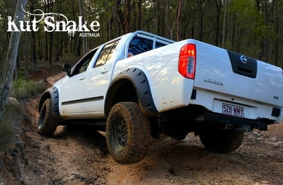 Kut Snake | Nissan Navara D40 (2005 - 2015) | Fender Flares Front Set - Big Rig 4x4 Auto & Superstore, QLD, Queensland, Australia, Underwood, Brisbane Flare Kits - 4WD, 4x4, Accessories, Performance Upgrades, Suspension,  Exterior, Tyres, Lift Kits, Offroad, Kut Snake - Legendex, Ridepro