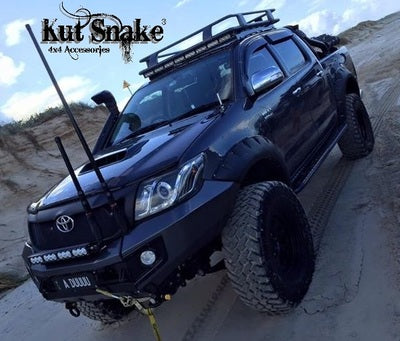 Kut Snake | Toyota Hilux (2005 - 2011) SR / SR5 / Vigo | Fender Flares Complete Set - Big Rig 4x4 Auto & Superstore, QLD, Queensland, Australia, Underwood, Brisbane Flare Kits - 4WD, 4x4, Accessories, Performance Upgrades, Suspension,  Exterior, Tyres, Lift Kits, Offroad, Kut Snake - Legendex, Ridepro