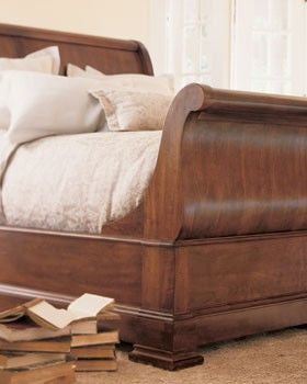 "king street"" sleigh bedthomasville (king bed only) – triad"