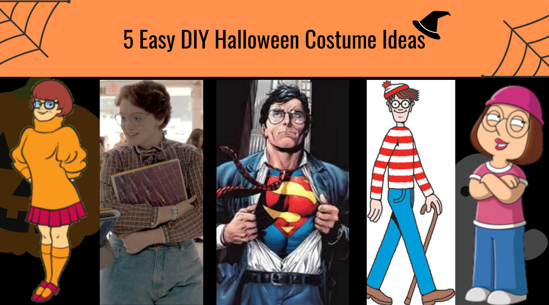 5 easy diy halloween costumes with glasses - umizato