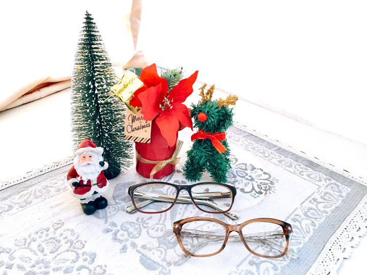 Amazing Christmas gifts for glasses wearers | Umizato Sofia Cappuccino and Antalya Topaz