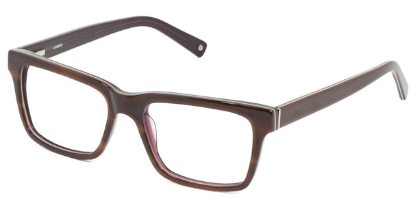 Brighton Chestnut Square Plastic Prescription Glasses at Umizato