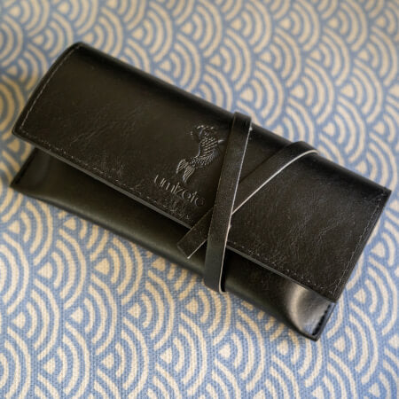 Pu Leather Travel Glasses Case