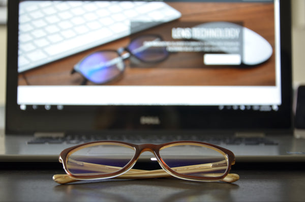 Umizato computer glasses for the workplace vs. Gunnar gaming computer glasses