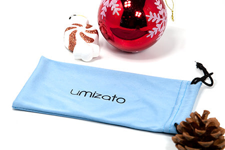 microfiber eyeglass pouch holiday