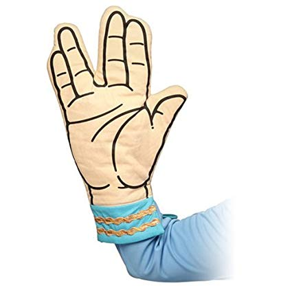Geeky Star Trek Oven Mitts