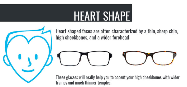 Umizato Glasses Fit Guide - Heart