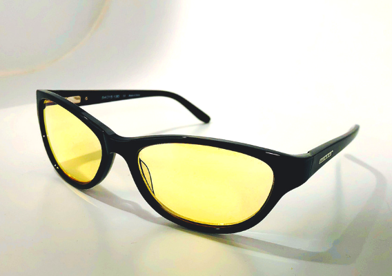 Gunnar Optiks yellow tinted amber tinited computer gaming glasses