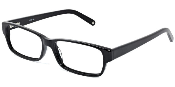 Zephyr Black Prescription Glasses at Umizato