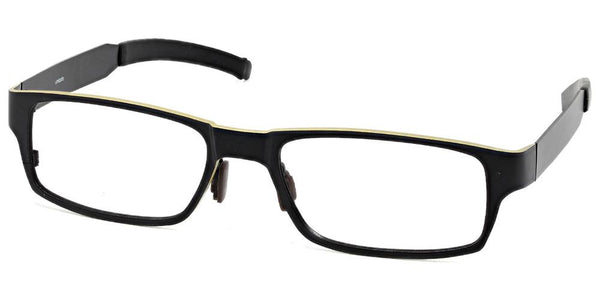 Kilimanjaro Black Gold Prescription Glasses at Umizato