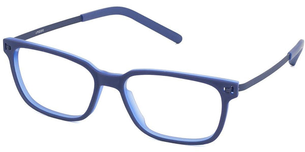 Pictor Blue TR90 Light Full Frame Prescription Glasses at Umizato