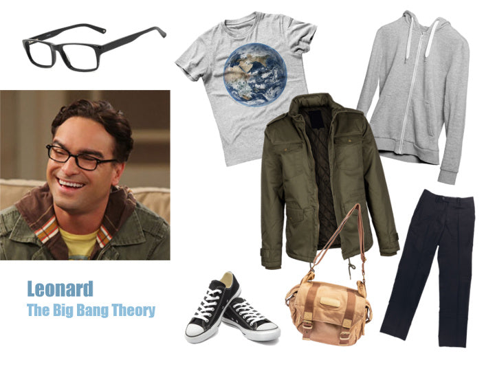Leonard The Big Bang Theory Halloween Costume