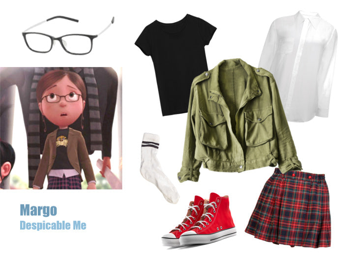 Margo Gru from Despicable Me Easy Halloween Costume Idea