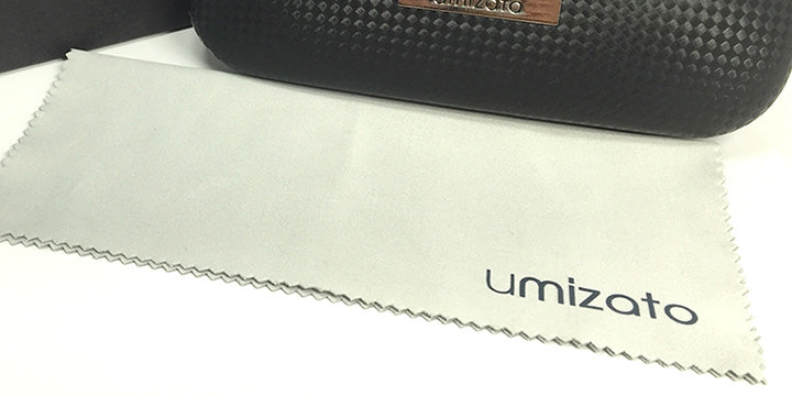 light grey microfiber cloth for eyeglasses umizato
