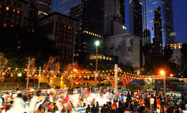 Holiday Event - Pershing Square LA