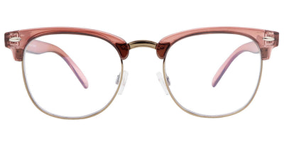 Arden Rose Gold Computer Glasses front