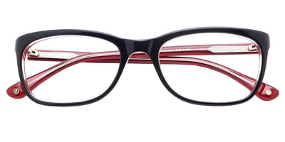 Charlotte Black Red Computer Glasses top