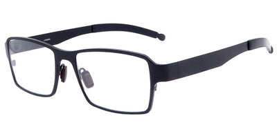 Everest Black Computer Glasses front side