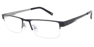 Fuji Black Silver Computer Glasses front side