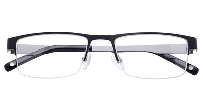 Fuji Black Silver Computer Glasses top