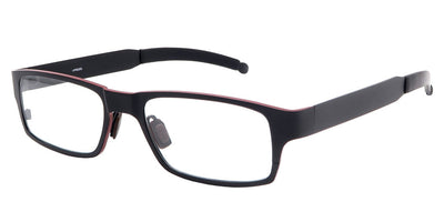 Kilimanjaro Black Red Computer Glasses front side