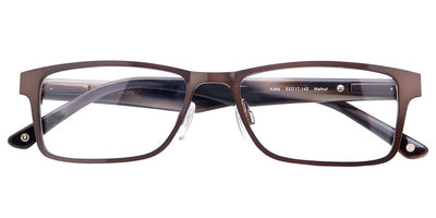 Kobe Walnut Computer Glasses top