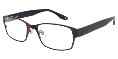 Ouray Dark Blue Red Computer Glasses front side