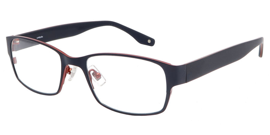 Ouray Dark Blue Red Computer Glasses front