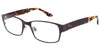Ouray Mocha Tortoise Computer Glasses front side