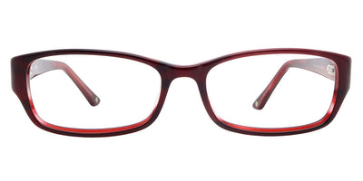 Perth Burgundy Computer Glasses front