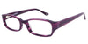 Perth Purple Computer Glasses front side