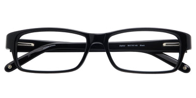 Zephyr Black Computer Glasses top