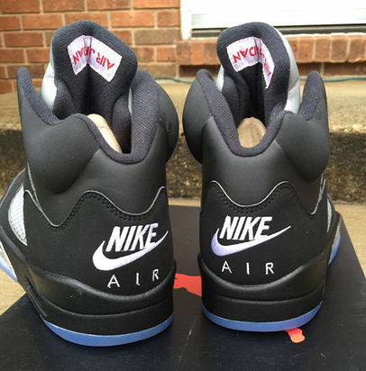 the latest ed174 1b54d Air Jordan 5 Retro OG Black Fire Red-Metallic Silver-White 845035-003. July  23, 2016  220. Easily one of the most iconic 5s ever released by Jordan  Brand.