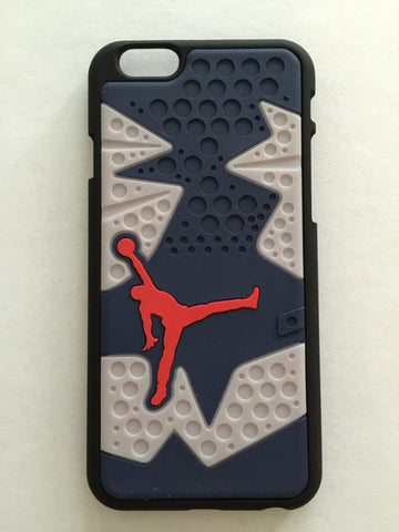 "Jordan Retro ""Olympic"" 6 Phone Case LexCustoms - 1"