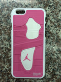 "Jordan Retro ""Pink"" 4 Phone Case LexCustoms - 1"