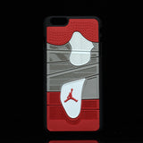 "Jordan Retro ""Bred"" 4 Phone Case LexCustoms - 2"